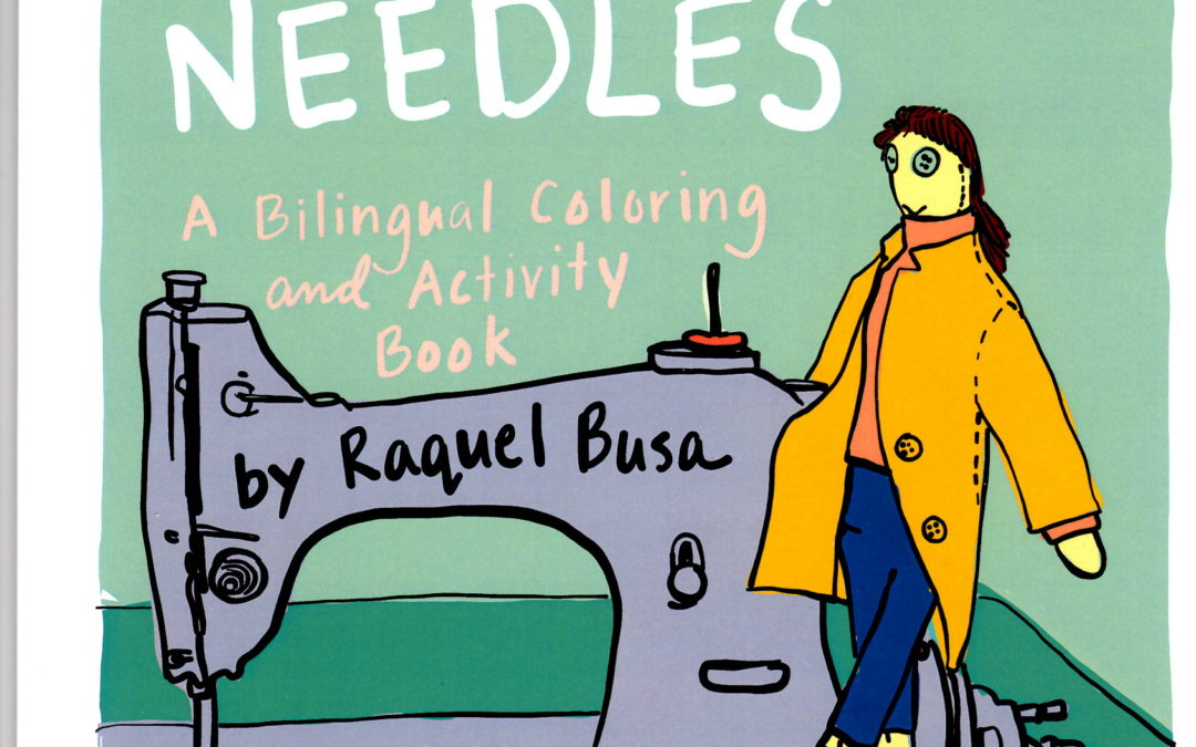 Pins and Needles: A Bilingual Coloring and Activity Book