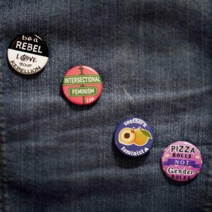 feminist button pack
