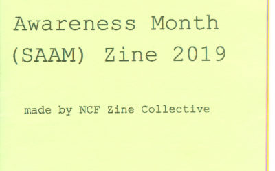 Sexual Assault Awareness Month Zine