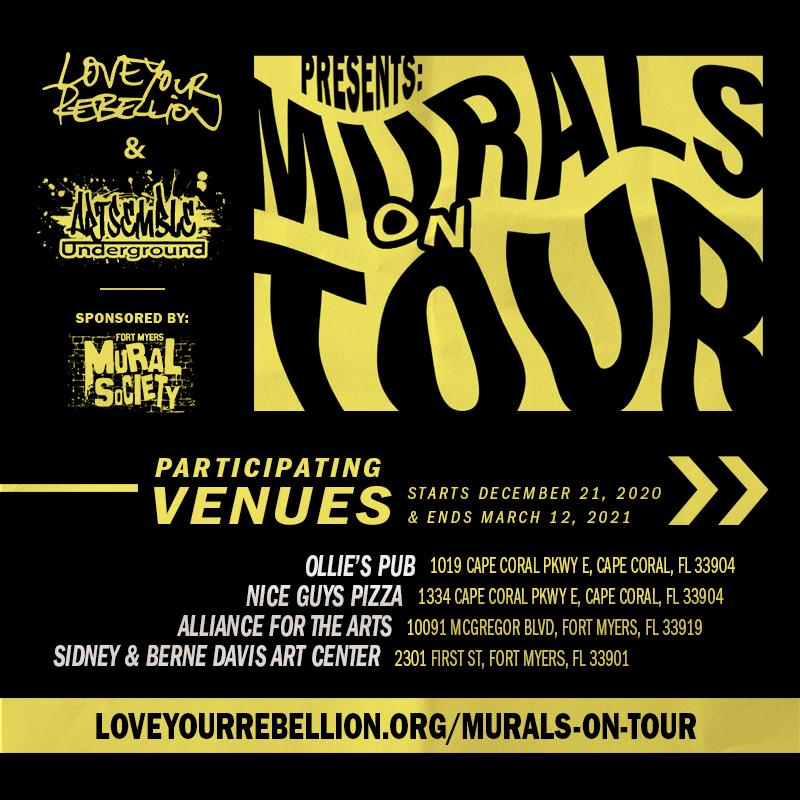 murals on tour